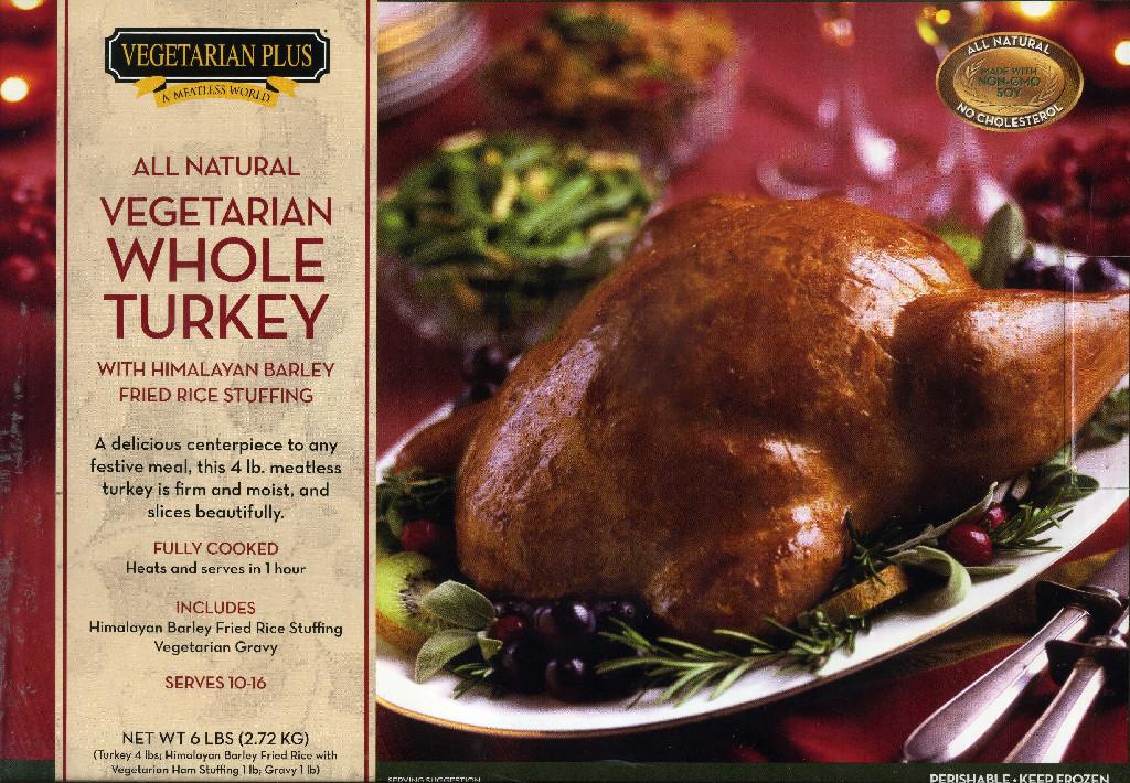 Vegan Whole Turkey Frozen Clarkdistributing Com