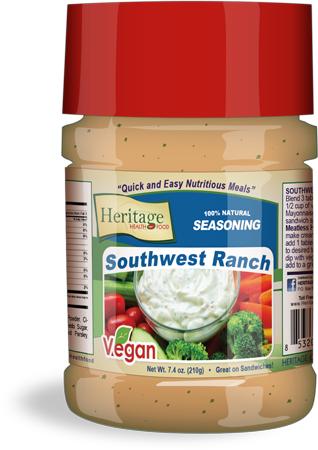 south west ranch bottle